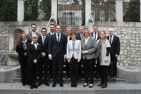 Erste gemeinsame Kabinettsitzung Deutschsprachige Gemeinschaft Belgiens - Saarland