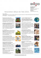 Newsletter Netzwerk Bildungspartner BNE in der Großregion